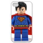 iPhone 4S case little superman robot Custom Case for iPhone 4,4S  