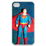 iPhone 4S case metal superman Custom Case for iPhone 4,4S  
