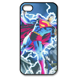 iPhone 4S case superman and flash light Custom Case for iPhone 4,4S
