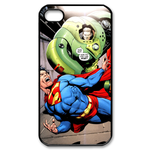 iPhone 4S case superman and spaceship Custom Case for iPhone 4,4S