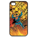 iPhone 4S case superman and the Destroyed planet Custom Case for iPhone 4,4S