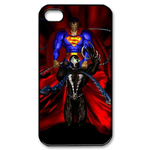 iPhone 4S case superman and the the Hell Custom Case for iPhone 4,4S