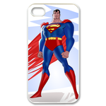 iPhone 4S case superman and white flash Custom Case for iPhone 4,4S  