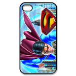 iPhone 4S case superman crash Custom Case for iPhone 4,4S  