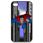 iPhone 4S case superman fly down Custom Case for iPhone 4,4S  