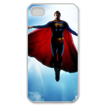 iPhone 4S case superman fly in the blue sky Custom Case for iPhone 4,4S