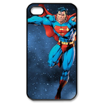 iPhone 4S case superman in space Custom Case for iPhone 4,4S