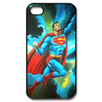 iPhone 4S case superman on the dark sky Custom Case for iPhone 4,4S