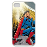 iPhone 4S case superman under the sunshine Custom Case for iPhone 4,4S