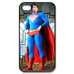 iPhone 4S case superman wear red boots Custom Case for iPhone 4,4S