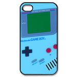 Light & Pure blue Gameboy Custom Case for iPhone 4,4S