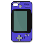 Romantic Purple Gameboy Custom Custom Case for iPhone 4,4S