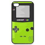 Limegreen Gameboy Custom  Custom Case for iPhone 4,4S
