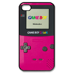 Hot Pink Gameboy Custom Custom Case for iPhone 4,4S
