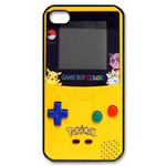 Cute & Colorful Yellow Gameboy Custom Custom Case for iPhone 4,4S