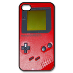 Red Hot Gameboy Custom Custom Case for iPhone 4,4S
