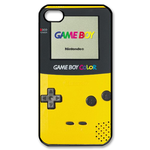 Golden Yellow Harvest Season Gameboy Custom Custom Case for iPhone 4,4S