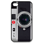 Simple Camera Case Design Custom iPhone 4,4S Case Custom Case for iPhone 4,4S