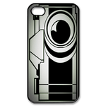 Cartoon Camera Case Custom iPhone 4,4S Case Custom Case for iPhone 4,4S