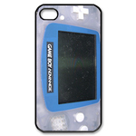 Faded Blue Gameboy Custom Custom Case for iPhone 4,4S