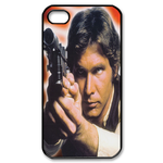 Star Wars' Han Solo Looking Determined Custom Custom Case for iPhone 4,4S