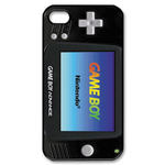 Jet Black Gameboy Custom  Custom Case for iPhone 4,4S