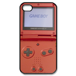 Rusty Orange Gameboy Custom Custom Case for iPhone 4,4S