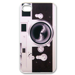 Pink Vintage Camera Design Custom iPhone 4,4S Case Custom Case for iPhone 4,4S
