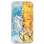 iPhone 4S case superman-ice and flame Custom Case for iPhone 4,4S