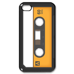 Yellow &amp; White Cassette Custom iPhone 4,4S Case Custom Case for iPhone 4,4S  