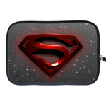 Kindle Fire Sleeve superman logo and raindrop Two Sides Sleeve for Kindle Fire