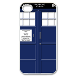 doctor who tardis Custom Case for iPhone 4,4S