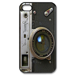Retro Camera Design Custom iPhone 4,4S Case Custom Case for iPhone 4,4S