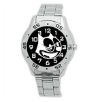 Metal Watches cartoon Analogue Stainless Steel Men's  Watch
