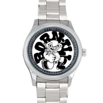 Metal Watches born-ill Custom metal Watch(40mm dia,stainless band)