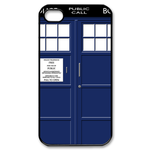 tardis police box Custom Case for iPhone 4,4S  