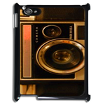 ipad 2  case  gold camera print Case for IPad 2