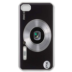 Camera with Silver Lens Custom iPhone 4,4S Case Custom Case for iPhone 4,4S