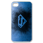 iPhone 4S case ink drop superman logo Custom Case for iPhone 4,4S