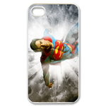 iPhone 4S case superman and tabby Custom Case for iPhone 4,4S