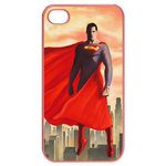 iPhone 4S case superman fly up Cases for  Iphone 4,4s(Pink)