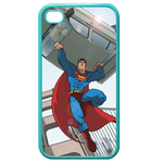 iPhone 4S case superman save the people Custom Cases for Iphone 4,4s (Blue)