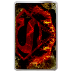Kindle Fire case burning superman logo Hard Cover Case for Kindle Fire