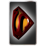 Kindle Fire case superman logo-black background Hard Cover Case for Kindle Fire