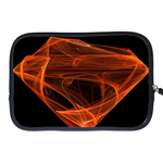 Kindle Fire Sleeve flaming superman logo Two Sides Sleeve for Kindle Fire