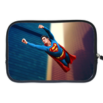 Kindle Fire Sleeve flying superman Two Sides Sleeve for Kindle Fire