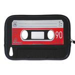 kindle fire sleeve red cassette Two Sides Sleeve for Kindle Fire