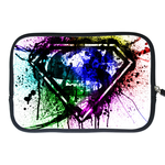 Kindle Fire Sleeve splash-ink superman logo Two Sides Sleeve for Kindle Fire