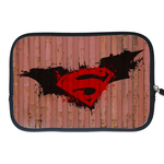 Kindle Fire Sleeve superman logo in container Two Sides Sleeve for Kindle Fire
