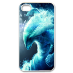 Watery White Dota 2 Hero Custom iPhone 4,4S Case Custom Case for iPhone 4,4S  
